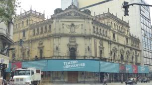 Le Teatro Cervantes, en travaux