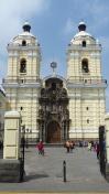 Le monastère San Francisco, célèbre pour ses catacombes